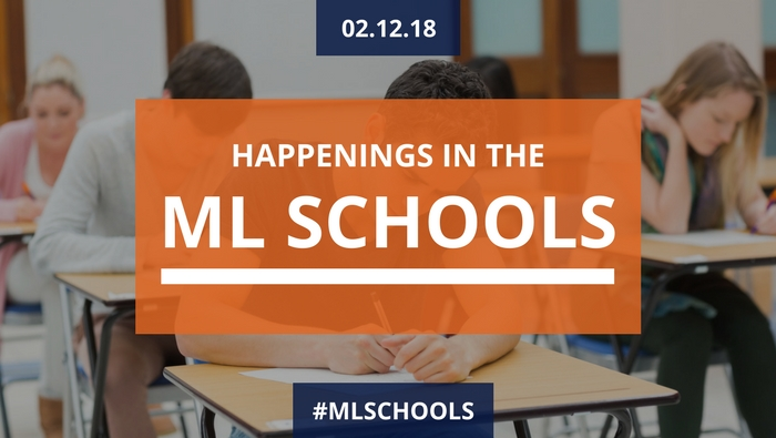 Happenings in the Mountain Lakes schools - February 12, 2018
