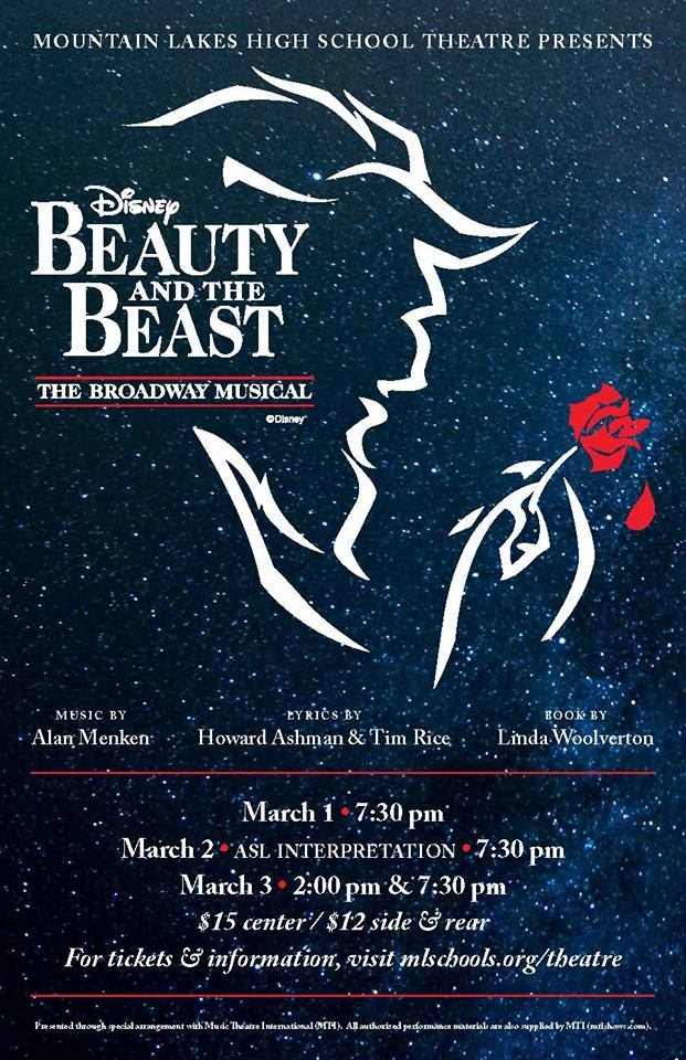 mountain-lakes-alumni-association-mlhs-drama-beauty-beast-flyer