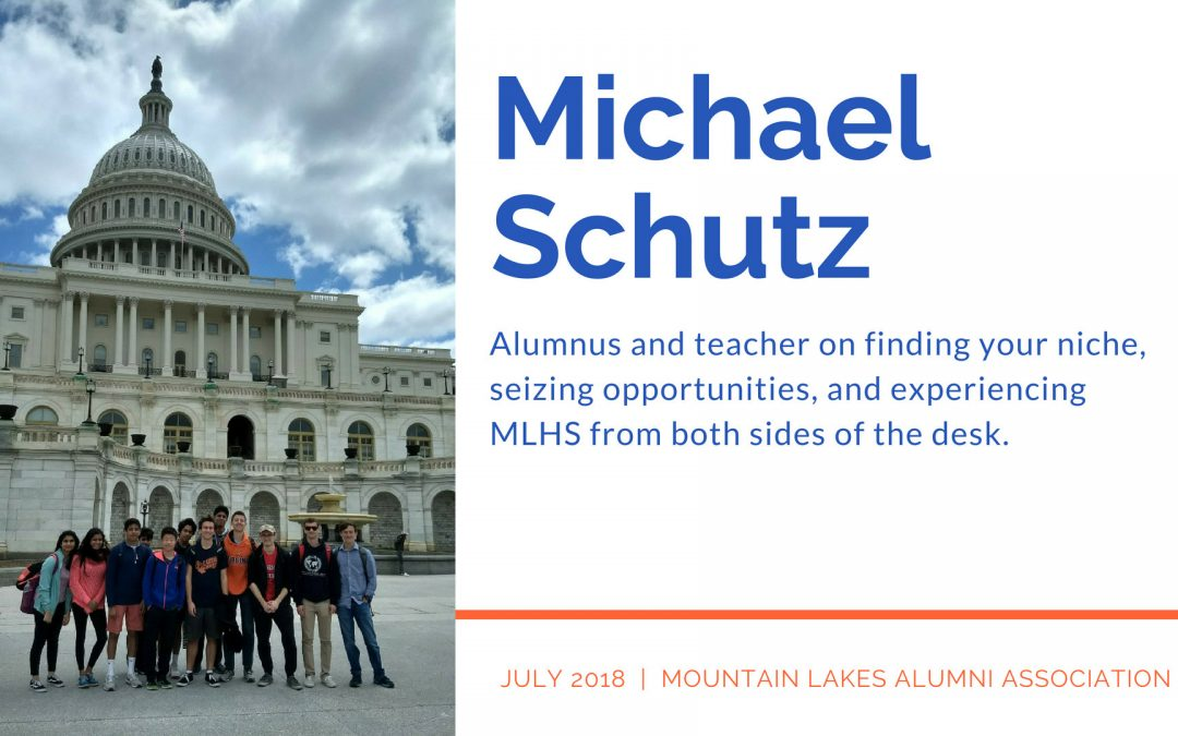Teacher in the Spotlight: Mr. Michael Schutz