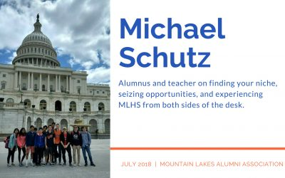 Teacher in the Spotlight: Mr. Michael Schutz (MLHS `03)